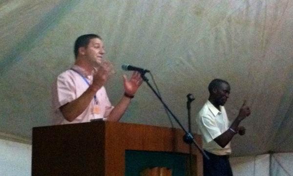 Brian Fuller Preaching