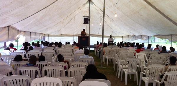 Grave Singogo teaching