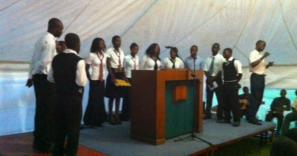Kwacha Choir Singing