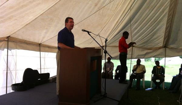 Sam Horn Preaching