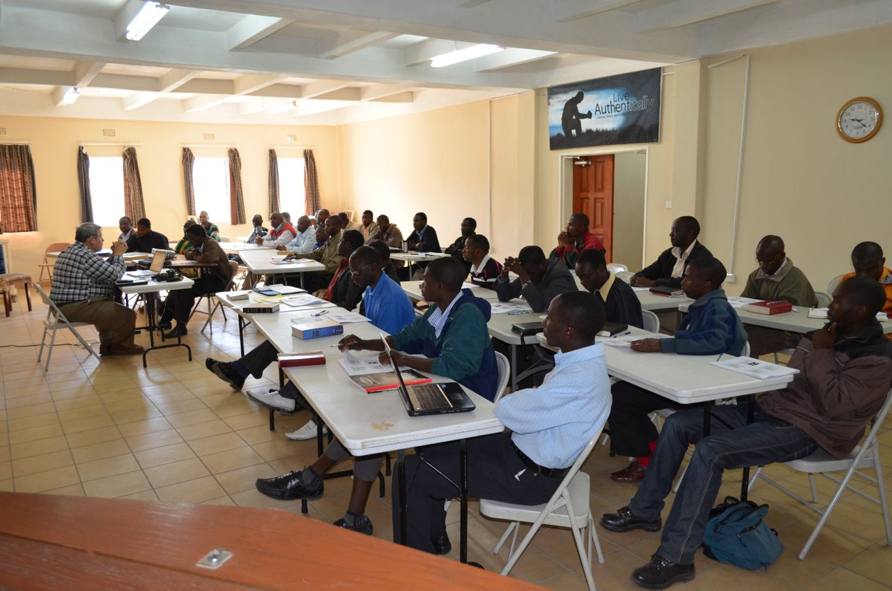History of Christianity In Africa, being taught at Central Africa Baptist College by Dr. Jeff Straub, Central Seminary.