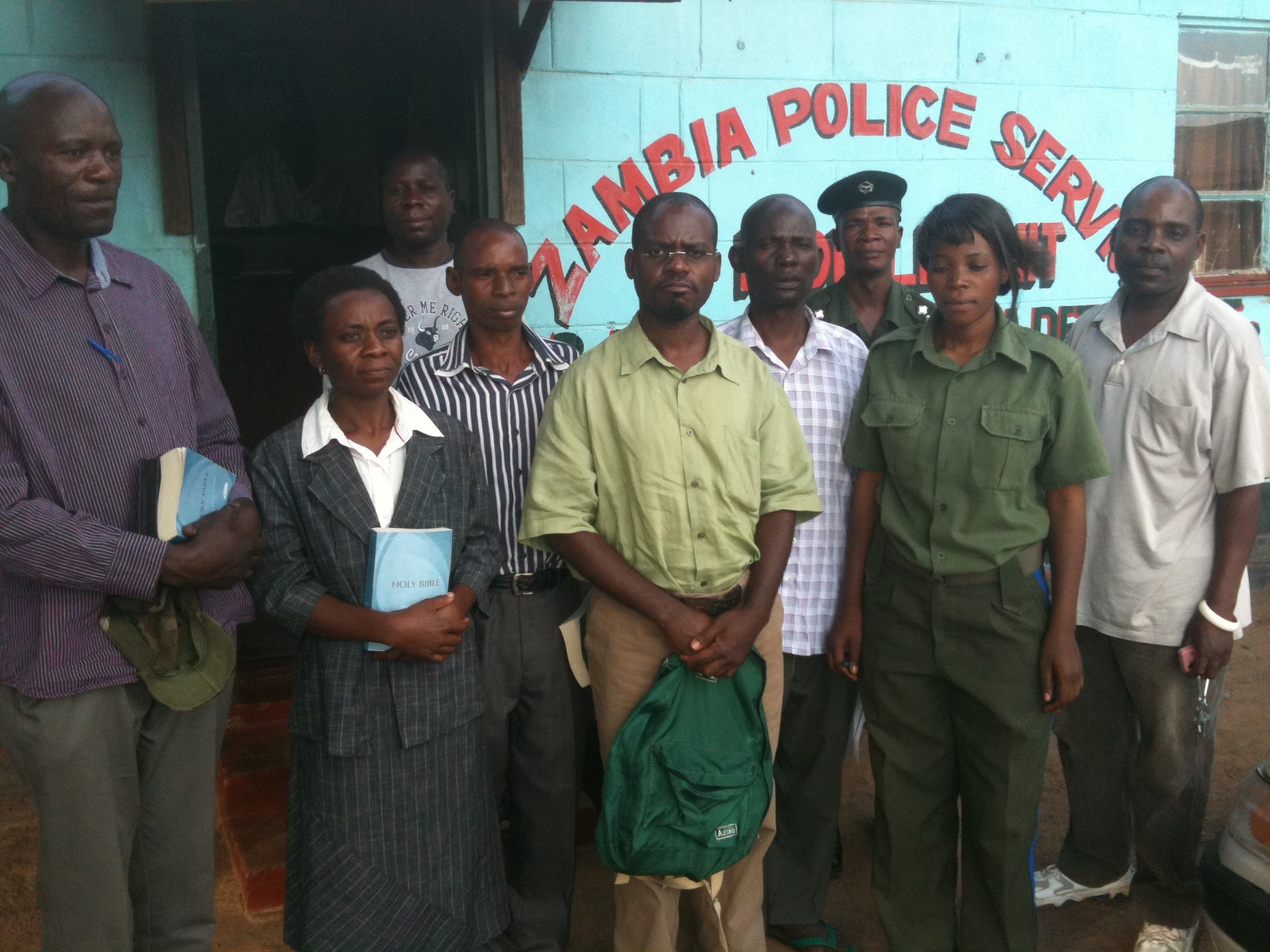 Zambia Police Outreach