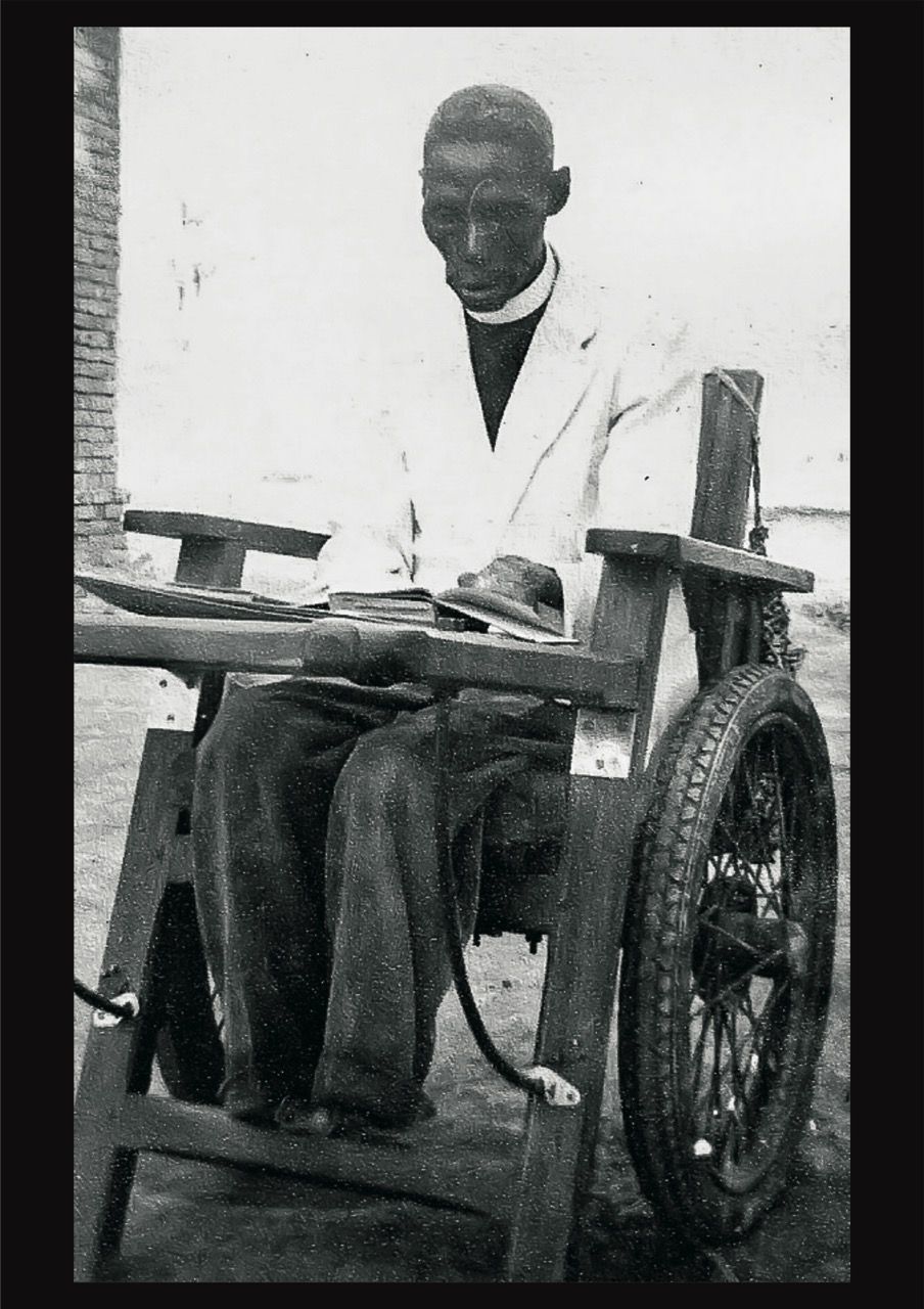 Paul Kasonga Wheelchair