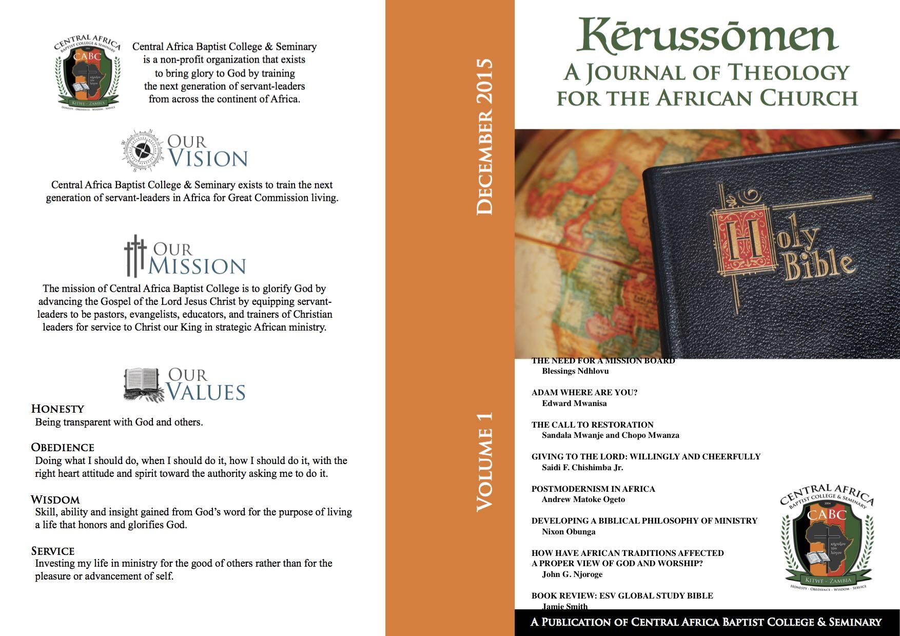 Kerussomen Vol. 1 Dec 2015 NEW with contents